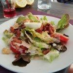 sala de lardons dans le menu à 22€