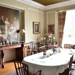 breakfast in the stunning dining room
