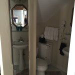 Small but fully functional bathroom