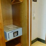 Closed and safety deposit box