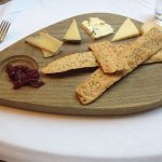 Cheese Board with home,are crackers