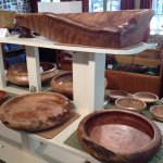 One of a kind redwood Burl bowls!