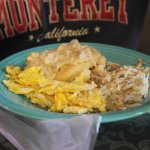 Sausage Gravy & Biscuit with Eggs & Hashbrowns