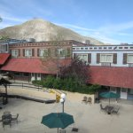 View from room at Tonopah Station Hotel