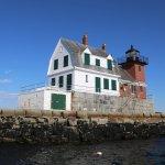 Breakwater lighthouse Rockland