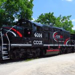 The Credit Valley Explorer train