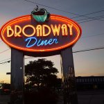 Broadway Diner in Hicksville Long Island