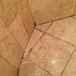 Mold in shower grout