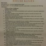 Their house rules.