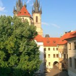 View from room 31 towards Prague's Old Town Square