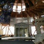 Jahrtausendturm im Elbauenpark Foto