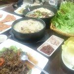 Korean restaurant on 2nd floor