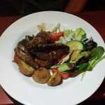 Kangaroo steak , most delicious