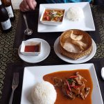 Beef Red Curry & Beef Panang - amazing!