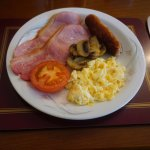 The full English breakfast which set me up for a day's walking
