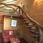 Interior de la cabaña para 2