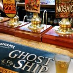 A selection of the ales on offer