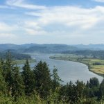 From the hillside at the Astoria Column