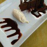 Exquisite chocolate torte
