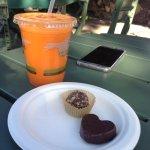 immunity builder + homemade chocolate desserts