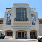 Central facade of the NEW Catalina Island Museum located in the heart of Avalon.