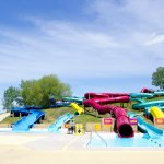 Our big kids and adult slides.
