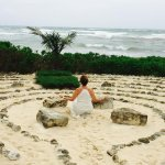 The Labyrinth is a great place to meditate.