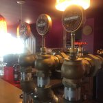 Some of the draft beers available.
