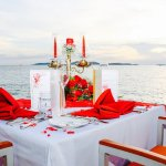 Engagement Dinner and Photographer planned by the hotel at Breezeo