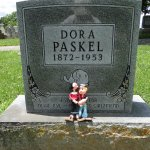 Chester's Evergreen Cemetery, grave of Olive Oyl inspiration Dora Paskel