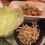 1-Chicken wrap.  2- Shrimp.  3- Brawni.