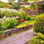 sunken gardens park in early June 2016