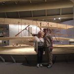 The plane the Wright Brothers flew