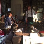 Storytelling in the coach house