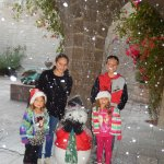 The museum always has snow for Christmas (even if Tucson does not!)
