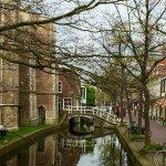 Canal alongside hotel