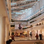 Swanky Seasons Place Mall (+ eateries and supermarket)  attached to hotel via door behind Concie