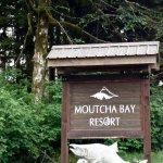 Entrance to land-based Moutcha Bay Resort