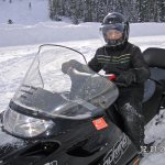 Snowmobile in the Grand Tetons, Winter Wonderland!