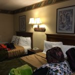 The kids had a great time .  We loved our rooms.  Excellent location. Super friendly staff great