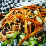 Southwest chicken salad .. yummy.. healthy.. delicious