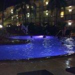 Swimming Pool at night!