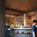 Interior looking at bar