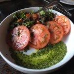 burata caprese salad