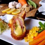 US Pork Tender Cordon Bleu 【Php 380.00】