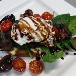 New to the Menu - Grilled Haloumi Stack