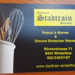 Restaurant Stadtrain Winterthur Foto