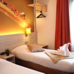 Chambre Twin ou grand lit