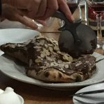 Exceptionally large chocolate Calzone