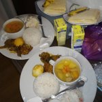 Delicious food sent to your room during the fasting